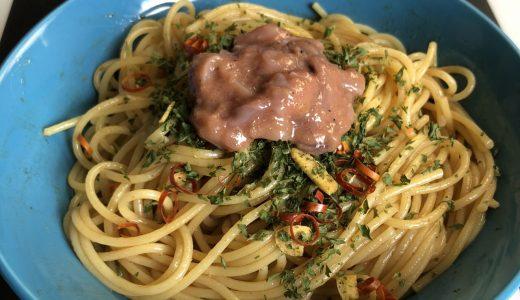 ちょい足しレシピ – Atta Attaにんにく塩辛ペペロンチーノ